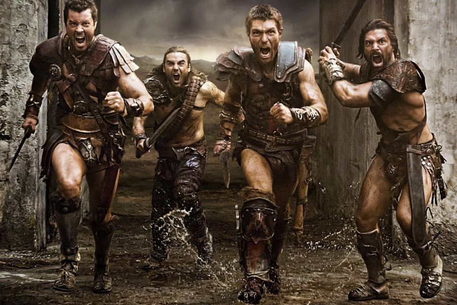 Spartacus au ralenti