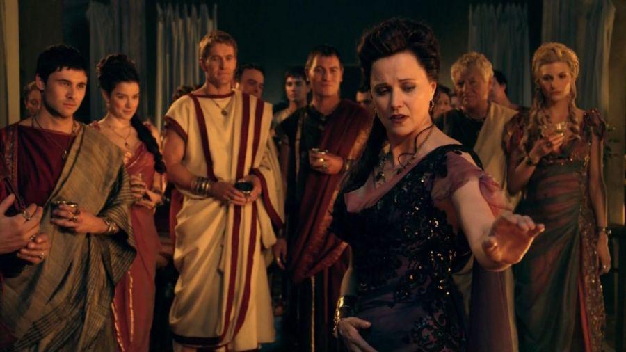 Spartacus : Lucretia